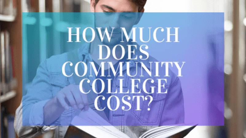 What Does a Community College Cost?